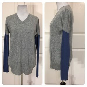 Cashmere! Theory Janey Royal cashmere sweater